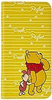 レイ・アウト iPhone8 Plus / iPhone7 Plus ケース 手帳型 ディズニーキャラクター スタンディング カーシヴ くまのプーさん RT-DP15T/PO