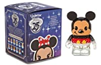 "NEW Disney Store 25th Anniversary Mickey Mouse Vinylmation 3"" inch Figure"