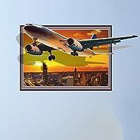 3D壁ステッカーステッカー飛行機のソファの背景の壁のベッドサイドリビングルームの壁のベッドルームの装飾の寮の男の子 GAODUZI