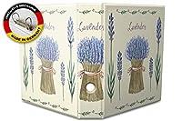 バインダー 2 Ring Binder Lever Arch Folder A4 printed Lavender