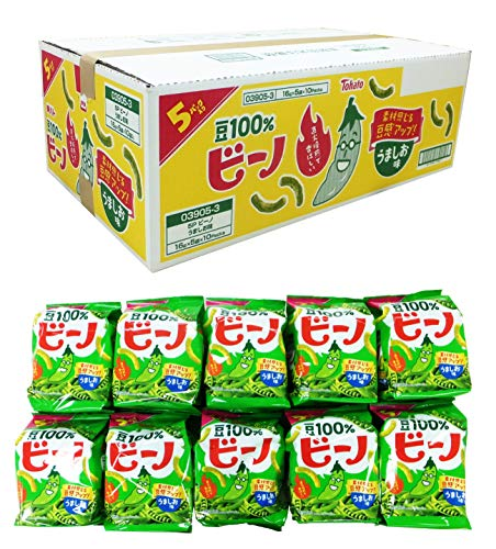 東ハト ビーノ うましお味 5袋入 80g×10袋