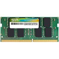 シリコンパワー ノートPC用メモリ DDR4-2400(PC4-19200) 4GB×1枚 260Pin 1.2V CL17 永久保証 SP004GBSFU240N02