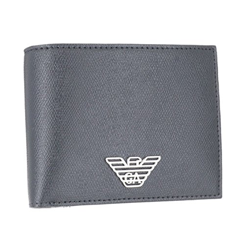 EMPORIO ARMANIエンポリオアルマーニ 財布 メンズ BUSINESS PVC 2つ折り財布 NERO Y4R165-YLA0E-81072 並行輸入品