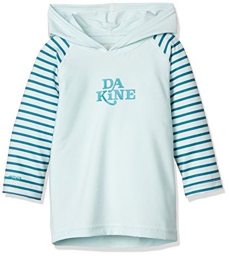 [ダカイン] [ キッズ ] 長袖 ラッシュ パーカー 女の子 (UV カット) / Toddler Girl's Hooded L/S / UPF50+ ラッシュガード