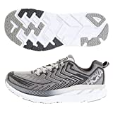HOKA(HOKA) クリフトン(Clifton) 4 Wide 1016779-GMCH (グレー/25.5/Men's)