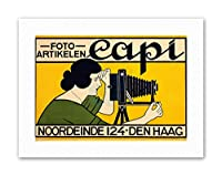 Ad Camera Icles Capi Hague Netherlands Womangraphy Canvas Art Print
