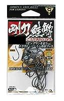 がまかつ(Gamakatsu) シングルフック 剛力鮭鱒 3/0号 16本 NSブラック 67636