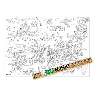 マルアイ 塗り絵 NuRIE NIPPON P...の関連商品3