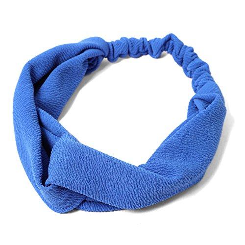 (Emueichie) MHA Karabari cross turban hair band plain Ladies 20692