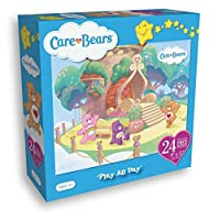 Care Bears 24 Piece Puzzleメジャー9 x 12インチPlay All Day