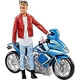 Barbie Pink Passport Ken Doll with Motorcycle