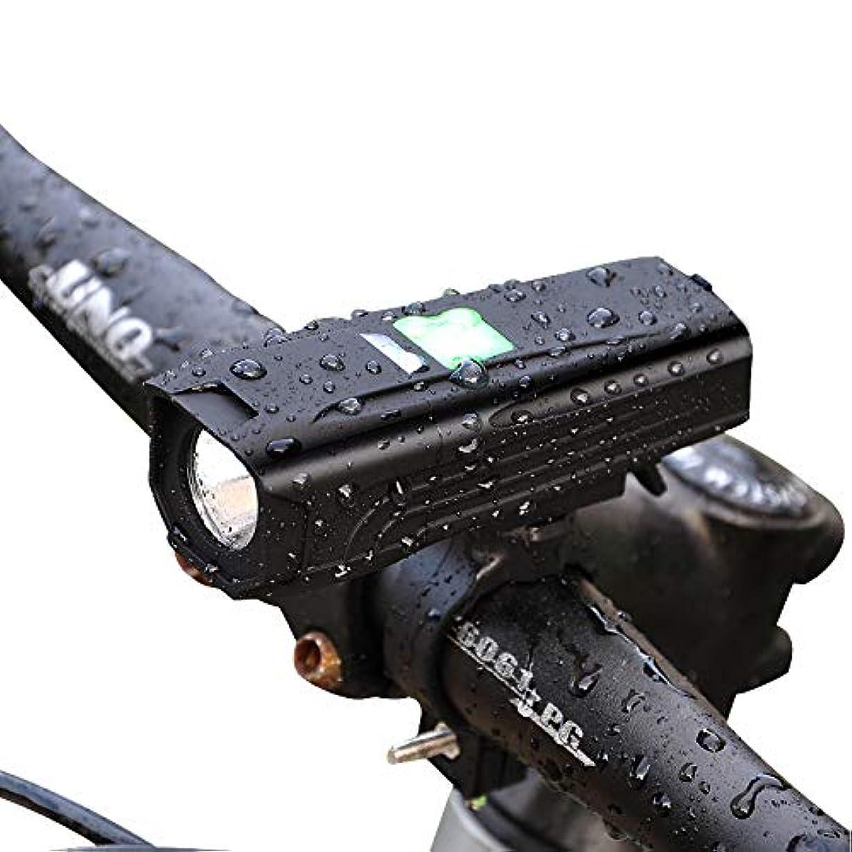 羊の服を着た狼学んだ感謝COOPO 自転車ライト IP65 防水 650ルーメン 2000mah 大容量 LEDヘッドライト 高輝度 ロードバイク USB充電式 5モード点灯 防振 アルミ合金製 懐中電灯兼用LR-Y7