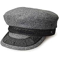 スタジオトムス HALLO SUPLLY 帽子 男女兼用 メンズ レディース 日本製 rhh08 国産 フィッシャーマン マリンキャップ ウール100% バスク メルトン 本格的 FISHERMAN BSQ