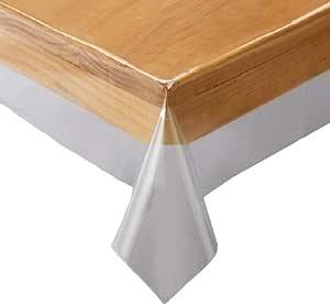 川島織物セルコン 透明ビニルクロス テーブルクロス 130×220cm JJ1029