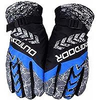 スキー手袋暖かい防水手袋スキーギアサイクリング手袋、01