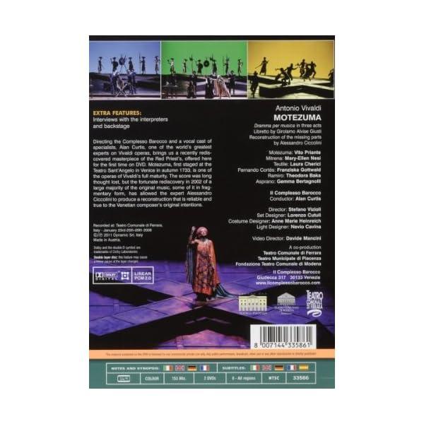 Vivaldi: Motezuma [DVD]...の紹介画像2