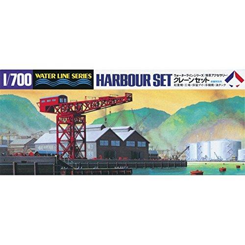 静岡模型教材協同組合 タミヤ 1/700 ウォーターラインシリーズ No.510 情景アクセサリー クレーンセット プラモデル 31510