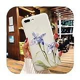 11 Pro高級3DシリコンケースiPhone 6 7 6 s 8プラス5 s SE X XS MAX XR耐衝撃性の花電話ケースiphone 6 7ケースガール-Flower 08-For iPhone 7 Plus
