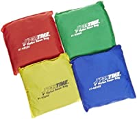 School Smart Nylon Sportime Heavy Duty Bean Bag Assorted Color 4 W x 4 L (Set of 12) [並行輸入品]