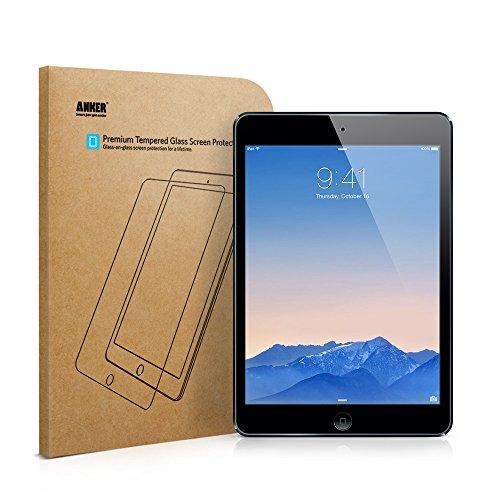 Anker GlassGuard iPad Pro 9.7インチ / Air 2 / Air用 強化ガラス液晶保護フィルム