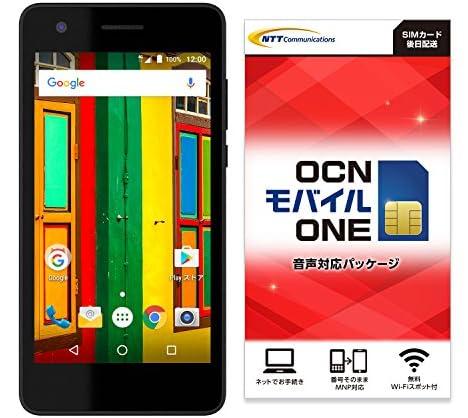 Covia Fleaz Que(CP-L45s) ブラック 【OCNモバイルONE SIMカード付】 (音声SIM)