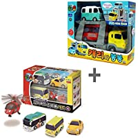 [Tayo] リトルバスタヨフレンドミニカートイキャリー&ボンボン+スペシャルフレンズセットVer.4(4個) The Little Bus Tayo Friends Mini Cars Toy Carry & BongBong + Special Friends Set Ver.4 (4 Pcs) [並行輸入品]