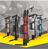 Cyfie 空気入れ 自転車用 携帯用ポンプ アルミ製 軽量 米式/英式バルブ対応 自転車取り付け可 風船などに使用可