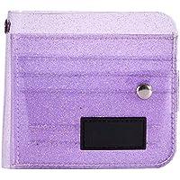 Niome Transparent Wallet PVC Folding ID Card Case Holder Storage Bag