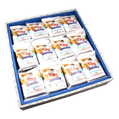 おかしのマーチ グリコ ビスコ シンバイオティクス さわやかなヨーグルト味 (5枚×2パック) 36個 ギフト セット D