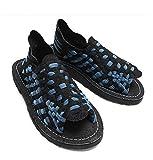 (チュバスコ) Chubasco Aztec Black-Slate Blue Nylon/Black Piel Juan サンダル[海外直送品] (M7W9(25cm), BLACK/SLATE BLUE) [並行輸入品]