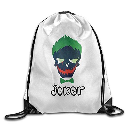 Wolf Blood ナップサック オリジナルバッグ ジムサック スーパーヒーロー Joker 悪魔 ジョーカー 美しい災厄 Drawstring Bag