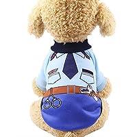 犬 服 ドッグウェア ペットウェア リボン ニット プリント トイプードル チワワ ダックス 服 キュート セーター 1 XS
