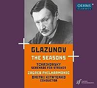グラズノフ:四季/チャイコフスキー:弦楽セレナード キタエンコ