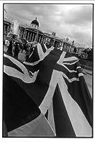ハービー山口 オリジナルプリントポストカードDANCING FLAG LONDON 1981