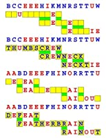 Joinword Puzzles: Red, Green, and Blue