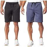 32 DEGREES Mens Men's Short, 2-Pack Color Blue and Black