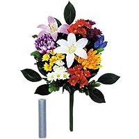 お供え用花 2束セット 【水替え不要、枯れないお花でいつも華やか】
