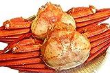 ゆで紅ズワイガニ3尾(1.5kg)/冷凍 日本海鮮魚センター