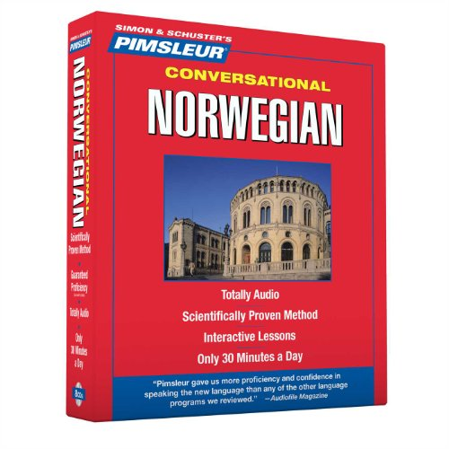 Download Pimsleur Norwegian Conversational Course - Level 1 Lessons 1-16 CD: Learn to Speak and Understand Norwegian with Pimsleur Language Programs (1) 0743566297