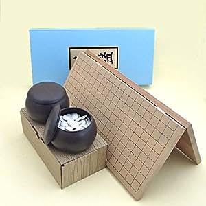 囲碁セット 新桂6号折碁盤セット翔