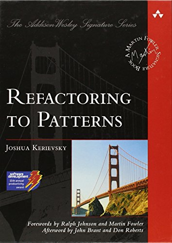 Refactoring to Patterns (Addison-Wesley Signature Series (Fowler))の詳細を見る