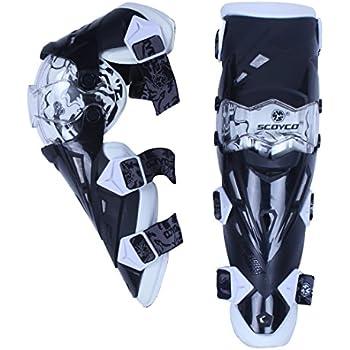 レーシングプロテクター バイクプロテクター ツーリングプロテクター ハードエルバーガード アームガード/ガード 膝用 耐衝撃性高い 転倒防護 安全 ホワイド