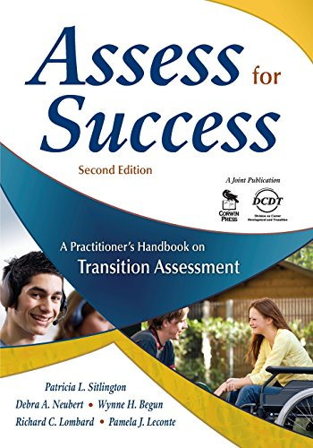 Download Assess for Success: A Practitioner's Handbook on Transition Assessment (NULL) 1412952816
