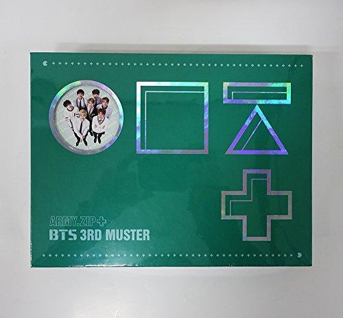 防弾少年団 BTS 3rd MUSTER [ARMY.ZIP+] DVD+Photobook+Photocard+Pre-Order Gift [KPOP MARKET特典: 追加特典フォトカードセット] [韓国盤]