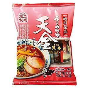 藤原製麺 らーめんや天金旭川醤油(乾燥) 126g