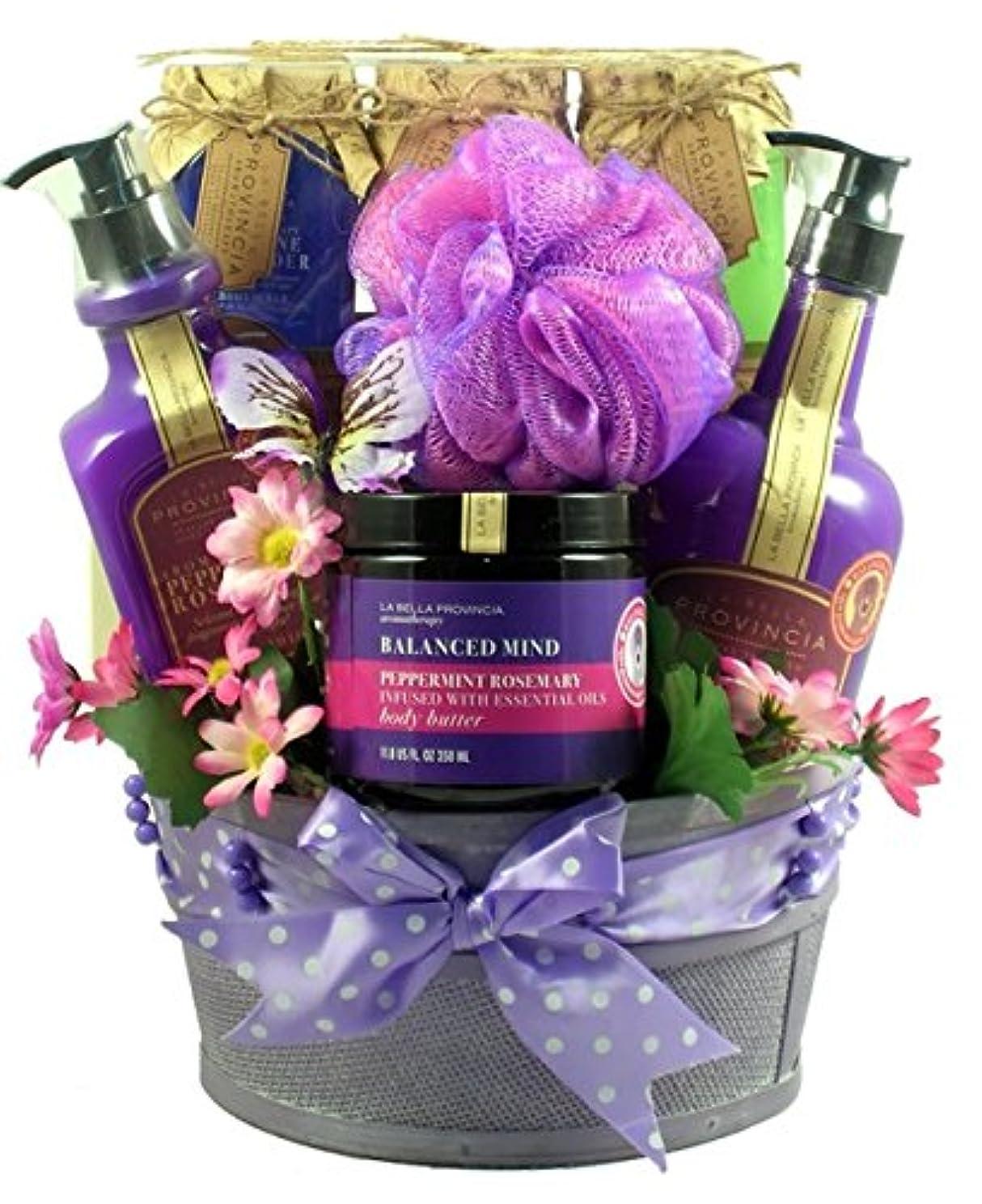 超高層ビルシュリンク抵抗力があるGift Basket Drop Shipping ArTh Aroma Therapy Spa Collection Gift Basket