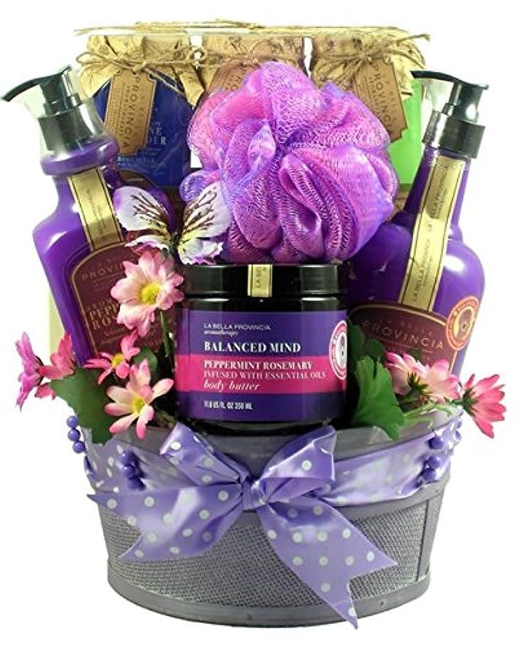 消化器受粉者貫入Gift Basket Drop Shipping ArTh Aroma Therapy Spa Collection Gift Basket