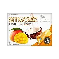 マンゴーフルーツアイスキャンディー5×65ミリリットル (Smooze) (x 6) - Smooze Mango Fruit Ice Lollies 5 x 65ml (Pack of 6)