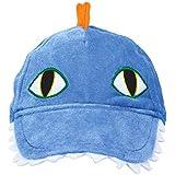 Dashing先史時代/恐竜デラックス生地帽子誕生日パーティーFavors、6 x 10インチ、ブルー