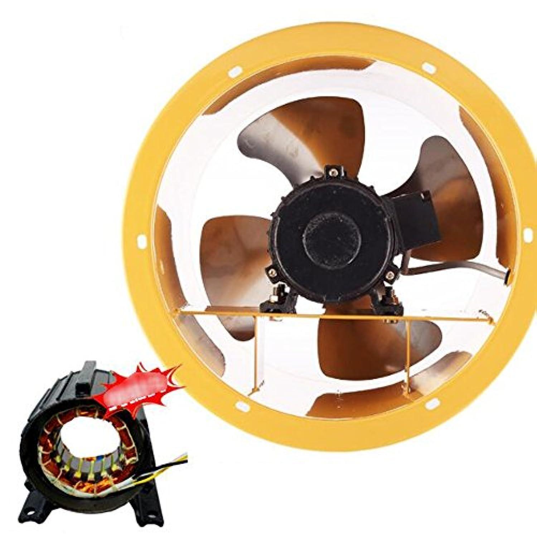 ZR- 16インチ円形シャフトフローファン高速排気ファン産業排気ファン\排気ファンパイプファン400mm 550W (サイズ さいず : 10 inch)